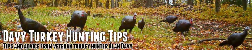 Alan Davy's Wild Turkey Hunting Tips